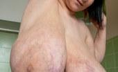 OMG Big Boobs Alice 85JJ Big Tits Stretches