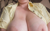 OMG Big Boobs Kristy Mature Milf Saggy Tits