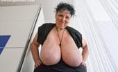 OMG Big Boobs Anika Mature Big Saggy Tits