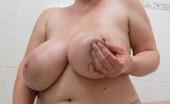 OMG Big Boobs Kristy Wet Slippery Big Tits
