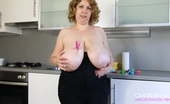 OMG Big Boobs Emily Clothes Pins Tit Bounce
