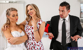 Naughty Weddings Nicole Aniston Julia Ann Finds Out That Her Stepdaughter, Nicole Aniston, Cheated On Her Husband-To-Be Before The Wedding. Julia Promises To Keep Her Mouth Shut As Long As Nicole Does A Little Something For Her. It Seem'S That Everyone At This Wedding Has Been Gett