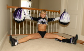 Teen Kasia Pig Tailed Cheer Leader Takes Pictures