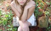 Teen Topanga Topanga Posing Outside Naked In Here Cute Outfit