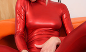 Pinky June 18yo Teen Pinky June In Fetish Zentai Scene