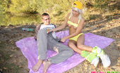 Pinky June Blond Czech Teen Pinky June Loves Fucking Hard Outdoors