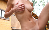 Pinky June Exciting Outdoor Scene With Hot Teen Pinky June