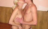 Casual Teen Sex Beautiful Teen Sucks Cock Without Any Doubts And Hesitations Horny Man Begins Undressing Blonde Girl. He Makes Cute Chick Perform A Nice Blowjob. As Soon As Naked Blonde Girl Finishes Sucking That Hard Pole, She Stands Doggy Fashion And Gets Fucked From Behind. Hottie Rides Rock-H