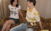 """Casual Teen Sex Sex With Brunette Beauty 379790 Guy Seduces His Stunning Teen Brunette Girlfriend To Have Sex Before The Camera. She Can'T Say """"No"""" Because This Cute Babe Loves Feeling Huge Dick Of This Stud Stuffing Loving Holes Of Hers Most Of All In Life. He Takes Off Her Clothes, Gets Dick Suck"""