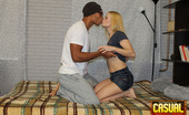 Casual Teen Sex Interracial Casual Sex Perverted Black Man Seduces White Blonde Teen Girl To Have Nice Sex With Him. She Is Not Against Of Having Interracial Fucking For The First Time In Her Life. Guy Undresses The Hottie And Caresses Her Small Tits Rubbing Clitoris Through White Panties. She