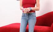 18 Years Old Brandy Flexible Redhead Teen Nympho Brandy May Deepthroat And Sofa Sex