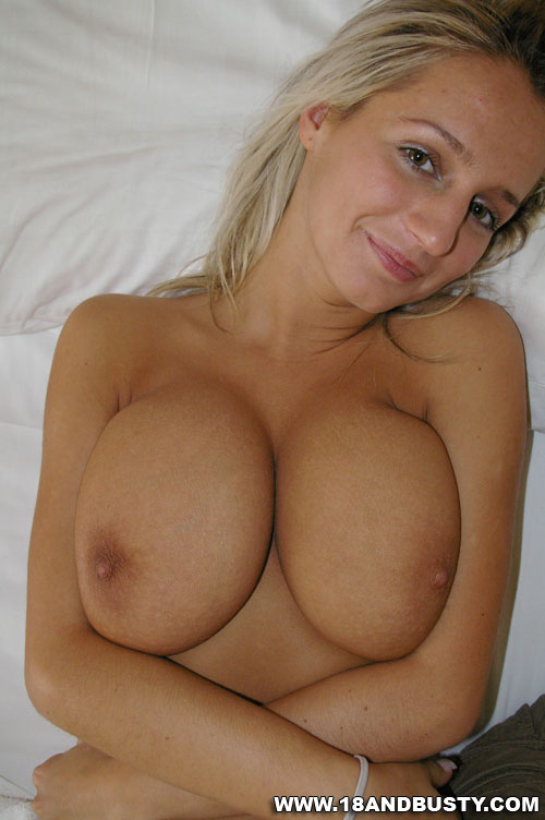 Big Natural Blonde Amateur