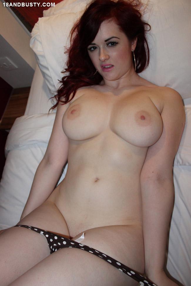 Big Natural Tits Brunette Teen