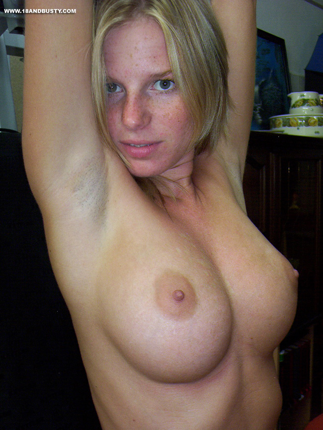 Skinny Blonde German Teen