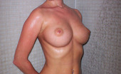 18 And Busty Susi Sweet Teen With Freckles Taking A Shower And Exposing Her Impressive Hard Rock Naturals