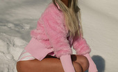 Teen Pink Videos Mandy Hot Teen Using Her Golden Dildo Out In The Cold