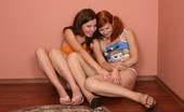 Kimmy Teen Double Act Teen Kimmy And Girlfriend Making Some Fun In The Corner