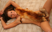 Kimmy Teen Foxy Hot Kimmy Is Enjoying Her Fox Fur All Over Her Body