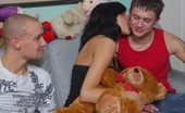 18 Stream Aneta & Kornel & Justyn On Photo This Black Haired Teen Is Only On The Menu For A Short Time. Tomorrow, She`Ll Go Back To Being Her Good, Innocent Self.