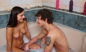 18 Stream Miloslava & Miroslav This Cute Hottie Went Over To Her Boyfriend`S House To Help Him Get Things Straightened Up After He Moved In But When She Spotted The Garden Sized Tub In His Bathroom She Couldn`T Help Herself And She Stripped Off. Running The Water She Called Downstairs