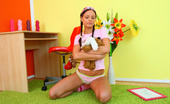 18 Stream Miloslava This Freaky Brunette Teen Is So Horny All The Time That It`S A Wonder That She Ever Makes It Out Of The House! Even When She Sits Down To Get Work Done For Her Classes She Can`T Keep Her Dainty Little Fingers Off Her Tight Toned Body! As She Sits At Her D