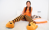 18 Stream Miloslava This Cute Teen Babe`S Favorite Color Is Orange And When Her Boyfriend Bought Her A Care Package Filled With Orange Accessories She Knew That She Had To Do Something Extra Special For Him. Setting Up A Video Camera In Her Bedroom She Slipped In To Her Oran