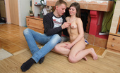 18 Stream Valerij & Iveta This Naughty Brunette Teen Was So Horny And She Knew That If She Flashed Her Tight Teen Body At Her Boyfriend He Wouldn`T Be Able To Keep His Hands Off Her And She Was Absolutely Right! As Soon As He Saw Her He Threw Her To The Floor To Fuck Her! First He