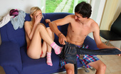 18 Stream Violla & Fossum Violla Is One Horny Babe And It Doesn`T Take Much To Get Her Excited So When Her Neighbor Showed Up To Help Her Install Her New Satellite Dish She Didn`T Waste Any Time In Getting His Cock Nice And Hard So She Could Play With It! As His Fat Cock Grew In H