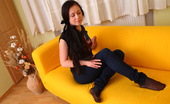 18 Stream Dalia 386938 Dalia Has Been Feeling Horny All Morning, She Just Couldn`T Focus On Anything, So She Locked The Door To Her Room And Hopped Up On Her Favorite Leather Couch To See If She Can Work Some Of That Sex Frustration Off. She Sure Could, As Soon As She Started R