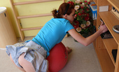 18 Stream Alochka Playful Teen Alochka Has Been Feeling Wound Up All Day Long, She Just Couldn`T Keep Her Feet Steady, And Decided That She`S Got To Do Something About It Before She Goes To Her Afternoon Classes. The Workout Did Little To Settle Her Down, But She Knows Ano