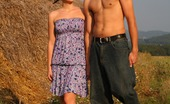 18 Stream Branislava & Aleksej 387608 The Soft Hay Makes A Perfect Bed For These Horny Teen Lovers. They Don`T Have Any Privacy Anywhere Else, So This Farmer`S Field Becomes Their Bedroom.