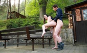 18 Stream Karolina & Kristof This Brunette Teen Wants Her Tender Pussy Fucked Right Now. She Doesn`T Want To Go Inside To The Bedroom, She Wants To Be Fucked On The Picnic Table.