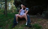 18 Stream Karolina & Kristof There`S No Place More Natural To Have Sex, Then Outdoors Beneath The Trees And On The Soft Ground. He Pushes His Rock Hard Cock Inside Of Her Tender Pussy And Makes Her Moan.