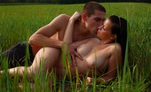 18 Stream Branislava & Aleksej As The Sun Sets On This Field, This Young Stud`S Cock Starts To Rise. Soon, He`S Sliding It Deep Inside Of This Teen`S Tender Pussy. He Can`T Believe How Tight Her Pussy Feels Around His Cock.