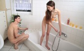 18 Stream Bozena & Kristof 388355 This Bath Gets Very Hot And Steamy When These Two Teens Are All Alone. She`S Not Worried About Getting Clean, In Fact She Just Wants To Get Dirty. Watch Her Tight Pussy Get Pounded