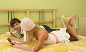 18 Stream Radich & Snejinka On Photo This Young Stud Came Over To Help This Blonde Teen Study For Her English Exam, But She`D Much Rather Have Her Pussy Fucked Tonight.
