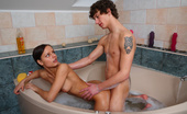 Teen Burg Miloslava & Miroslav This Tight Bodied Teen Really Loves To Get Fucked In The Bathtub, The Way The Warm Water Laps At Her Thighs As She Is Getting Her Dripping Wet Pussy Pounded And The Way Her Tits Press Up Against The Side Of The Tub!