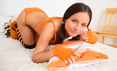 Teen Burg Miloslava This Sexy Teen Babe In Her Black And Orange Stockings Loves To Show Off Her Perky Titties And Just The Thought Of Someone Watching Her Is Enough To Get Her Tight Teen Pussy Dripping Wet!