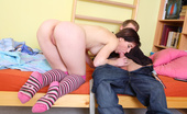 Teen Burg Alka & Denis Delicious Teen Girl Alka Has Found Herself A New Boyfriend, And She'S Doing All Sorts Of Kinky Things With Him, From Hot Ass Licking To Hardcore Teen Sex With Lots Of Moaning And Pussy Grinding