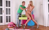 Teen Burg Liza & Petr Skinny Teen Blonde Liza Has Discovered Her True Calling In Life - She'S To Be A Party Girl And A Slut For Her Friends. She Has Had Many Partners, This Is Just The Latest Guy Who Gets To Bang Her.