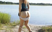 Teen Girlfriends Mother Nature Is The Only Witness Of Her Nudity