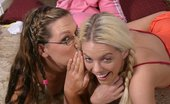 Teen Sleepover Girls After School 393323 Innocent Teen Lesbian Redhead Getting Licked Her Pussy First Time