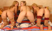 Teen Sleepover Lesbian Blondes Skinny Petite Lesbians Playing With Their Horny Boobs And Pussies