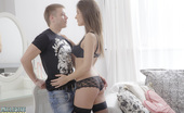 Exclusive Teen Porn Layla Deep Fuck Hot Brunette In LingerieA Wonderful Photo Set Of A Super Gorgeous Brunette Teen Babe Wearing Black Lingerie During The Erotic Sex Action.