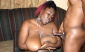 Real Black Fatties Black Cherry 395190 Guy Gets To Cum All Over This Fat Black Slut'S Big Round Tits Black Cherry'S Ebony BBW Breasts Bounce Everywhere As He Bends Her Over And Bangs The Hell Out Of Her Black Pussy