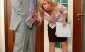 Secretary Pantyhose Alice & Leonard Pantyhosed Secretary Going For A Hot Quickie Before Showing Some Documents