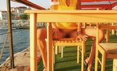 Teen Porn Storage Enestazi Teen On Public 396003 Public Nudity Lovely Teen Beauty Showing Perky Tits And Playful Pussy Under Sexy Yellow Dress On Public.