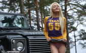Teen Porn Storage Sonya Hot And Horny Outdoor Masturbation Blonde Teen Likes Cars Really Much, Especially Big Masculine Ones That Make Her Pussy Get Wet The Most.