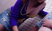 Teens From Tokyo Cute Japanese Teenage Girlie Sucking Off A Senior Penis