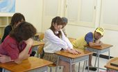 Teens From Tokyo Naughty Japanese Teenie Pleasing Cocks In The Classroom